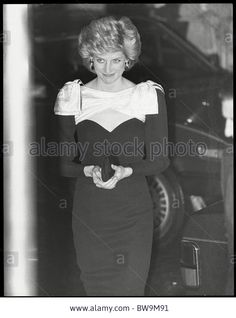 Princess Diana 3/5/86, at the Premiere of Out of Africa at the Empire Cinema in Leicester Square......Uploaded By www.1stand2ndtimearound.etsy.com