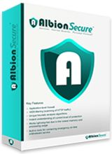 Albion Secure provides you real - time protection from the latest malwares and other viruses.
