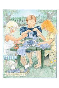 1547 - Maja, Lavender, Lena Anderson