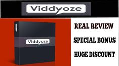 Viddyoze Real Review and Huge Bonus and Special Discount | Viddyoze Live Demo Of A Real User