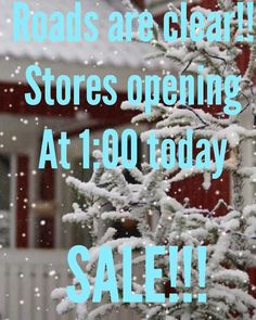 Yay! We are opening at 1:00. Come shop our sales!!! #madisonsbluebrick #downtownhotsprings #sale #shopping #shoplocal