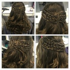 Hair done by Linda Harmsen  #hair #braid