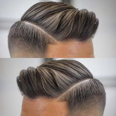Men's Toupee Human Hair Hairpieces for Men inch Thin Skin Hair Replacement System Monofilament Net Base ( Mens Hairstyles With Beard, Hair And Beard Styles, Hairstyles Haircuts, Haircuts For Men, Trendy Hairstyles, Medium Hair Styles, Short Hair Styles, Moda Pop, Fade Haircut