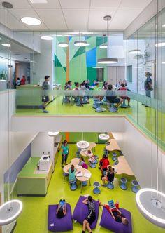 Здание начальной школы в США http://kleinburd.ru/news/zdanie-nachalnoj-shkoly-v-ssha/  Новое здание начальной школы в Вудлэнде, США, спроектировано командой HMFH Architects, работавшей над его концепцией в тесном сотрудничестве с педагогами. Образовательная программа школы построена вокруг методики командной работы и инклюзивного обучения, с использованием методов работы в малых группах, индивидуального обучения и проектной работы, а также других педагогических технологий, направленных на…