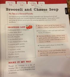 TASTE OF HAWAII: BROCCOLI AND CHEESE SOUP - PRESSURE COOKER RECIPE