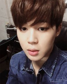 so cute jimin <3