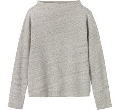 NWT light gray sweater New with tags light gray sweater. Long sleeves and slightly longer at the back. No trades. Also available in dark gray! H&M Sweaters Crew & Scoop Necks Striped Tee, Grey Sweater, Printed Shirts, Knitwear, T Shirts For Women, Sweaters, Cotton, Medium Long, Felt