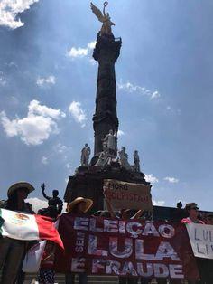 Na Cidade do México, aconteceu nesta tarde ato #LulaLivre, contra a prisão política do ex-presidente. #EuSouLula  Foto: Ana Luiza Moraes  Mídia NINJA (@MidiaNINJA) | Twitter