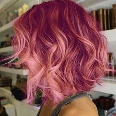 Wow! Would you try this pink look?  We love it!