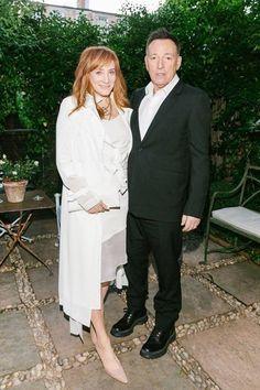Bruce Springsteen and Patti Scialfa Pre Tony Award Dinner Celebration NYC 5/21