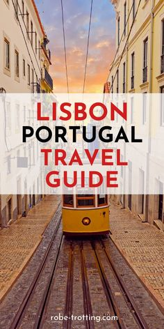 Click here for the ultimate guide to planning a trip to Lisbon, Portugal. This guide to the city covers the best things to do in Lisbon with recommended Lisbon hotels and restaurants. It includes travel tips for Lisbon and instagram spots you need to find on your trip! #Lisbon #Portugal #Europe #PortugalTravel #Wanderlust