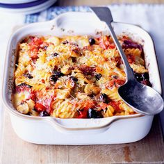 We've taken the idea of a classic Italian pizza and turned it into a deliciously rich and creamy pasta bake. Use the Ultimate tomato sauce recipe as a base.