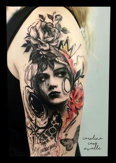 Carolina caos avalle Wood Burning, Tattoos For Women, Tatoos, Tatting, Skull, Mom, Abstract, School, Drawings