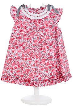 Vestido Nido Liberty Rojo - demelocoton.com