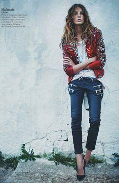 Daria Werbowy/ rock'n'roll
