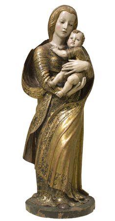 Seguidor de Diego de Siloé, Mare de Déu amb el Nen (ca. 1530-40, Museu Nacional d'Art de Catalunya, Barcelona)