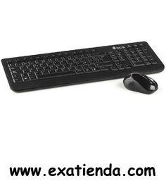 Ya disponible Tecl+rat cordl. NGS arcade kit   (por sólo 24.99 € IVA incluído):   -Kit de teclado y ratón inalámbricos de 2,4 GHz. El teclado encaja a la perfección en ambientes actuales de cualquier hogar. Le acompaña un ratón óptico de 800dpi dotado de una gran precisión en sus movimientos, con scroll antideslizante. Su receptor USB NANO de 2,4GHz le permite una conexión casi invisible y segura.  -Especificaciones técnicas: Diseño innovador y alta tecnología