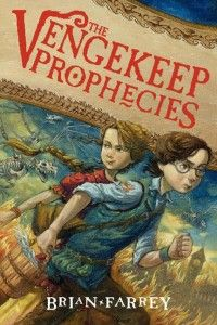 The Vengekeep Prophecies by Brian Farrey. Gr 4-7 Jaxter Grimjinx was born into a family of thieves, but he's so clumsy that his first big robbery lands his whole family in jail. The Grimjinxes are released when a prophecy woven into a tapestry predicts that they will save the city of Vengekeep from a variety of disasters. Can Jaxter and his friend Callie save their home city from a magic tapestry gone wrong?—Beth L. Meister, Milwaukee Jewish Day School, WI #sljbookhook