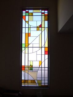 Modern Stained Glass, Stained Glass Birds, Stained Glass Designs, Stained Glass Panels, Stained Glass Patterns, Leaded Glass, Staircase Glass Design, Glass Partition, Colored Glass