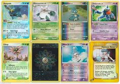 Pokemon lot of 8 cards WITH RARES ALL PICTURED Not Perfect with Sharpedo 22/109