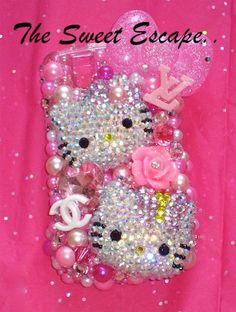 Blackberry Hello Kitty lover deco case!
