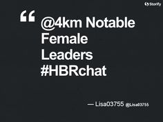 """From """"HBRchat: A Different Take on Leadership"""" story by HBR Exchange on Storify — http://storify.com/hbrexchange/hbrchat-a-different-take-on-leadershi"""