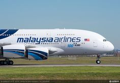 A380 MAS - 100th A380 delivery