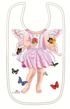 Just Add a Kid 'Butterfly Fairy' Bib available online at http://www.babycity.co.uk/