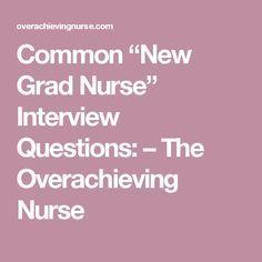 graduate nursing resumes