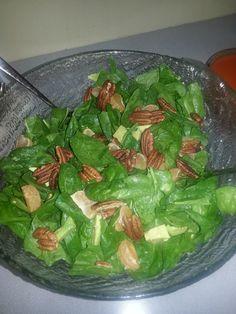 Spinach and Avocado Salad- Iris