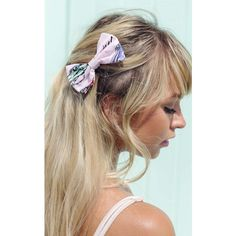 Beauxoxo Pink Retro 1950'S Car Print Hair Bow Small ($12) ❤ liked on Polyvore featuring accessories, hair accessories, multicolour, hair bows, pin up hair accessories, pink hair bow, rockabilly hair bows and pink hair accessories