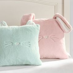 Cozy Luxe Critter Pillow Covers by PB Teen