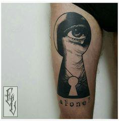 Dotwork, Blackwork, Tattoo done by Edgar Lanz