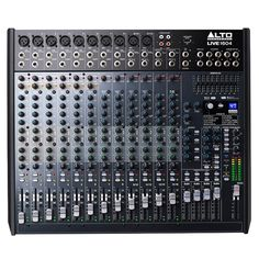 Alto Live 1604 Professional 16-Channel 4-Bus Mixer w/ Effects | Analogue Studio Mixers - Store DJ