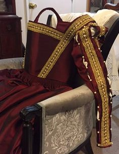 16th Century Italian Garnet Garb An Original Shushanna Design