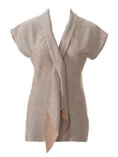 Scarf Collar Top 07/2014 #117A – Sewing Patterns   BurdaStyle.com
