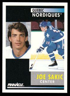 Joe Sakic # 150 - 1991-92 Score Pinnacle Hockey
