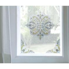 Artscape 12 in. Medallion Decorative Window Film Accent-01-0144 at The Home Depot
