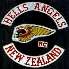 On March the 1948 the first Hells Angels Motorcycle Club was founded in the Fontana/San Bernardino area in the United States of America. Today the club is one of the largest clubs worldwide. Outlaws Motorcycle Club, Motorcycle Shop, Chopper Motorcycle, Motorcycle Tattoos, Motorcycle Quotes, Bike Gang, Angels Logo, Biker Clubs, Hells Angels