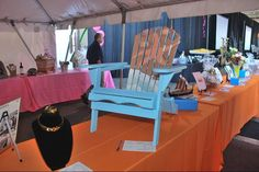 """Like this hand-crafted chair? Attendees bid on this item among others at the Harbor History Museum's """"History Rocks"""" dinner and auction at the Tacoma Narrows Airport in Gig Harbor, Washington on Sept. 22, 2012. Stay tuned for more information regarding the 2013 History Rocks dinner and auction."""