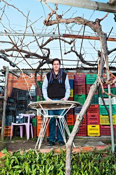 By LARS TUNBJORK - Stelios Zacharias, 27, operates a winery with his brother and their father near Mount Helicon, navigating the economic crisis by producing affordable wine. He says sales have doubled in each of the last five years.