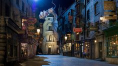 The Wizarding World of Harry Potter in Orlando, Florida is a must-see for Harry Potter fans. Check out these 10 other bookish places to visit! Universal Studios, Universal Orlando, Parc Harry Potter, Attraction, Les Themes, Diagon Alley, Vacation Destinations, Vacation Ideas, Adventure Is Out There