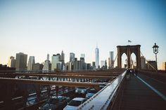 NYC 2014 | www.blog.juliusise.de #nyc #manhattan #travel #newyork #skyline #brooklybridge #sunset #bluesky #sky
