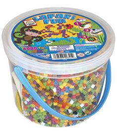Perler Fuse Bead Bucket Activity Kit-Safari Fun