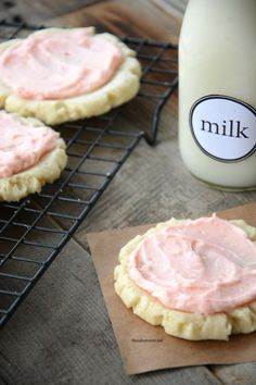 Make these copy cat Swig Sugar Cookies. One of the best sugar cookie recipes and taste just like the real Swig cookies. Make a Lemon or Lime version too!