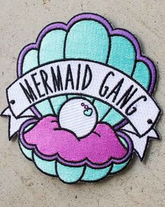 Dropdead Gorgeous | Mermaid Gang Iron On Patch - Tragic Beautiful buy online from Australia