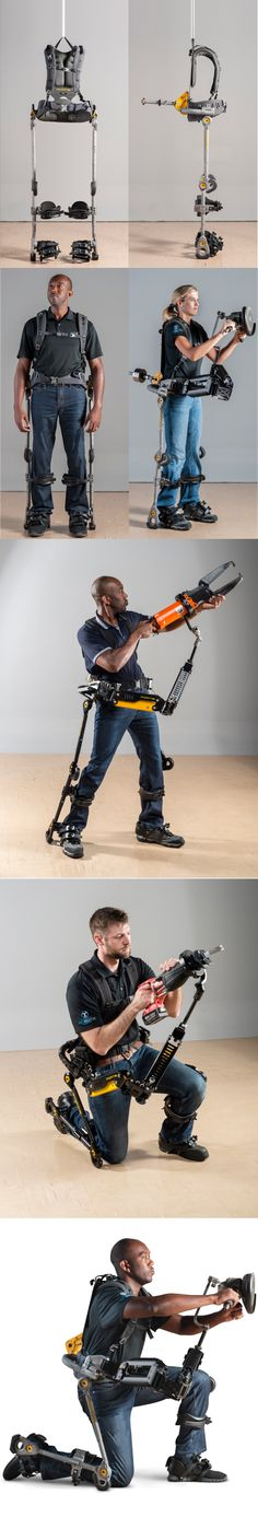 #FORTIS exoskeleton is an unpowered, lightweight exoskeleton developed for industrial environments to enhance user strength and endurance created by #LockheedMartin #MechanicalEnhancement