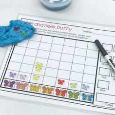 Kindergarten Fine Motor- Therapy Putty