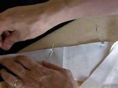 TR Cutting School (sewing skills-how to stitch pointed angles) - YouTube