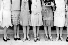 1920's drop-waist dresses #vintage #style
